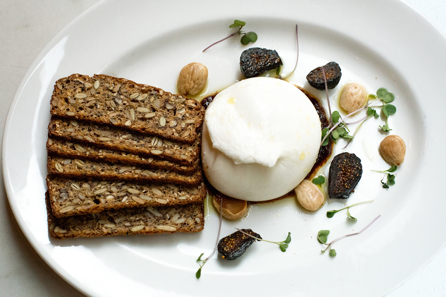 Buratta Food Photography