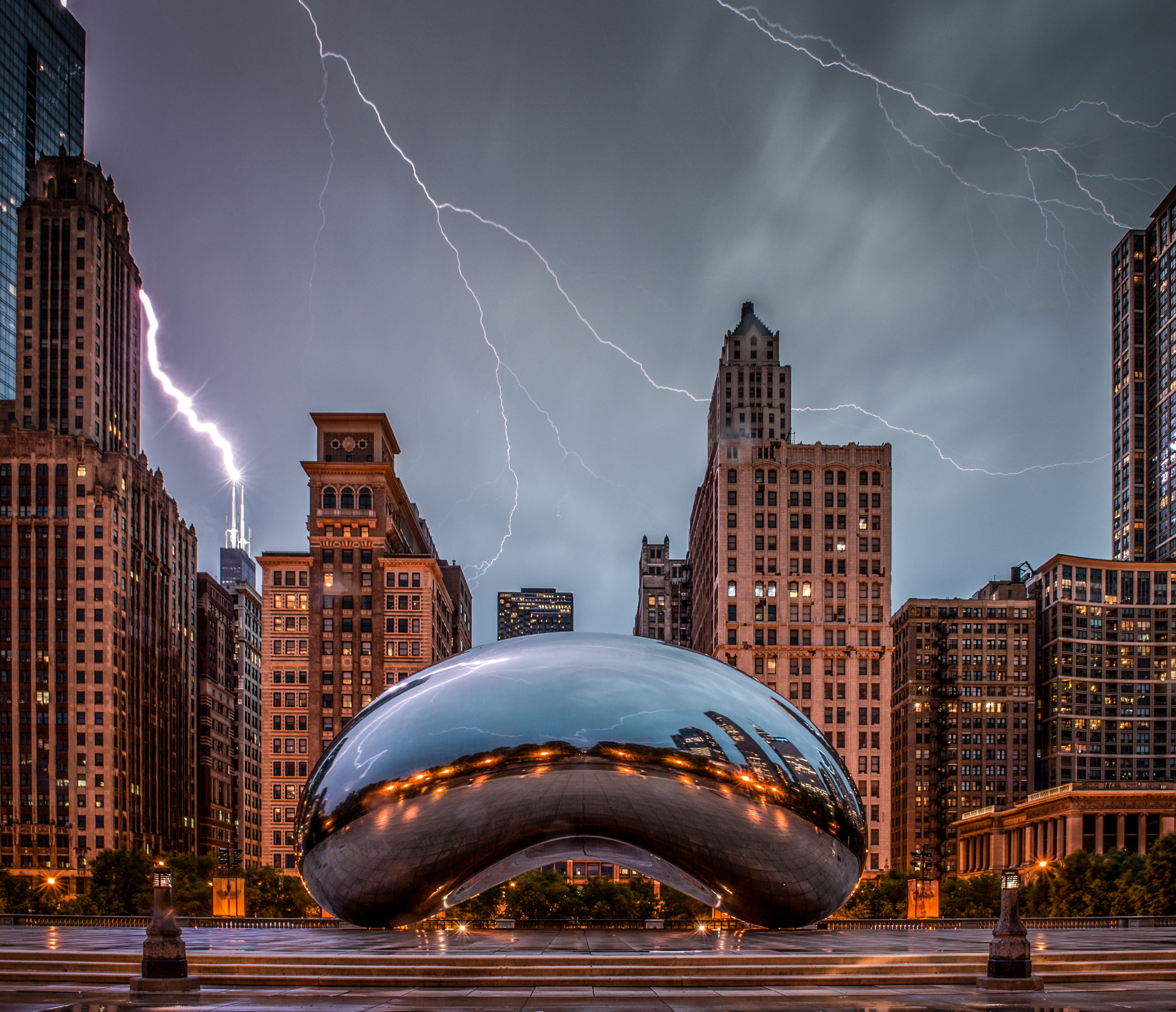 Chicago Bean Location Photography