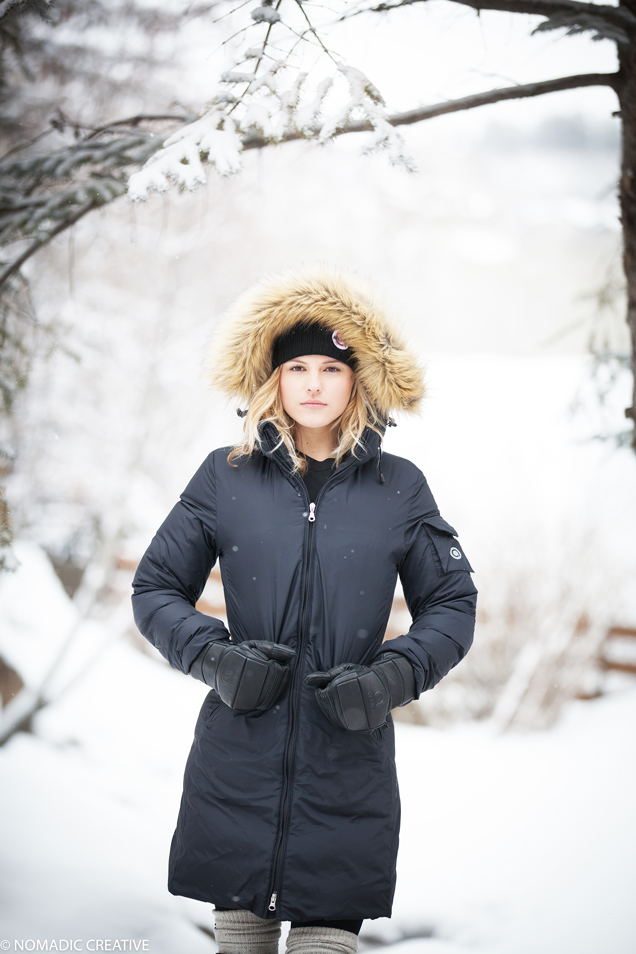 Arctica Winter 18 Down Jacket Product Lifestyle Photography